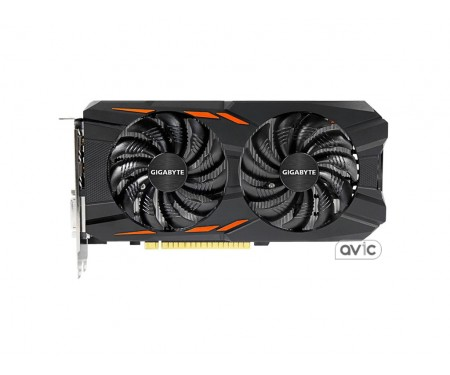GIGABYTE GeForce GTX 1050 Ti Windforce OC 4G (GV-N105TWF2OC-4GD)