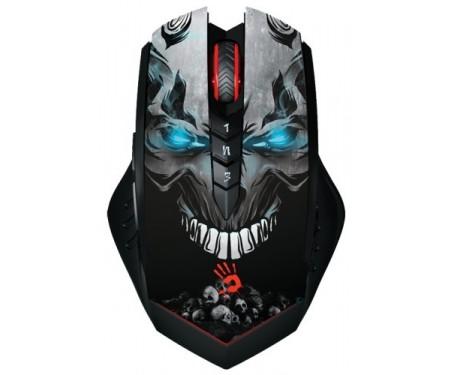 Мышь A4Tech Bloody R80 Skull Design Black
