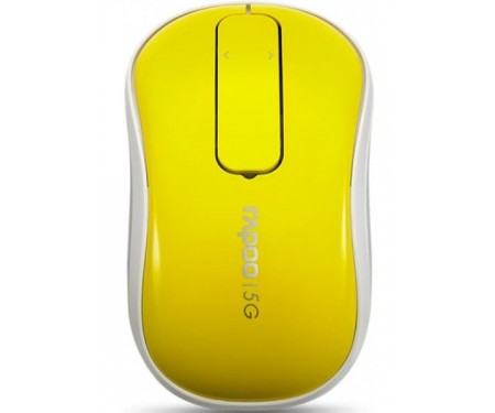 RAPOO Wireless Touch Mouse T120P (Yellow)