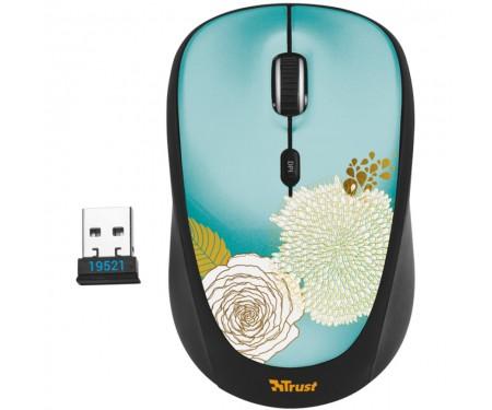 Мышь Trust Yvi Wireless Mouse Flower (19521)