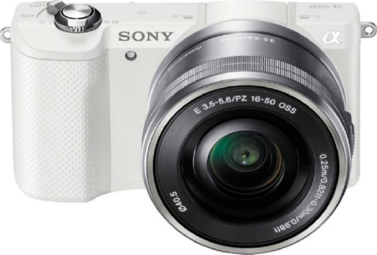 Sony Alpha 6000 kit 16-50mm White