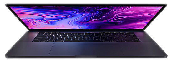 MacBook Pro 15 Space Grey 2019