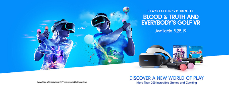 PlayStation VR Blood & Truth